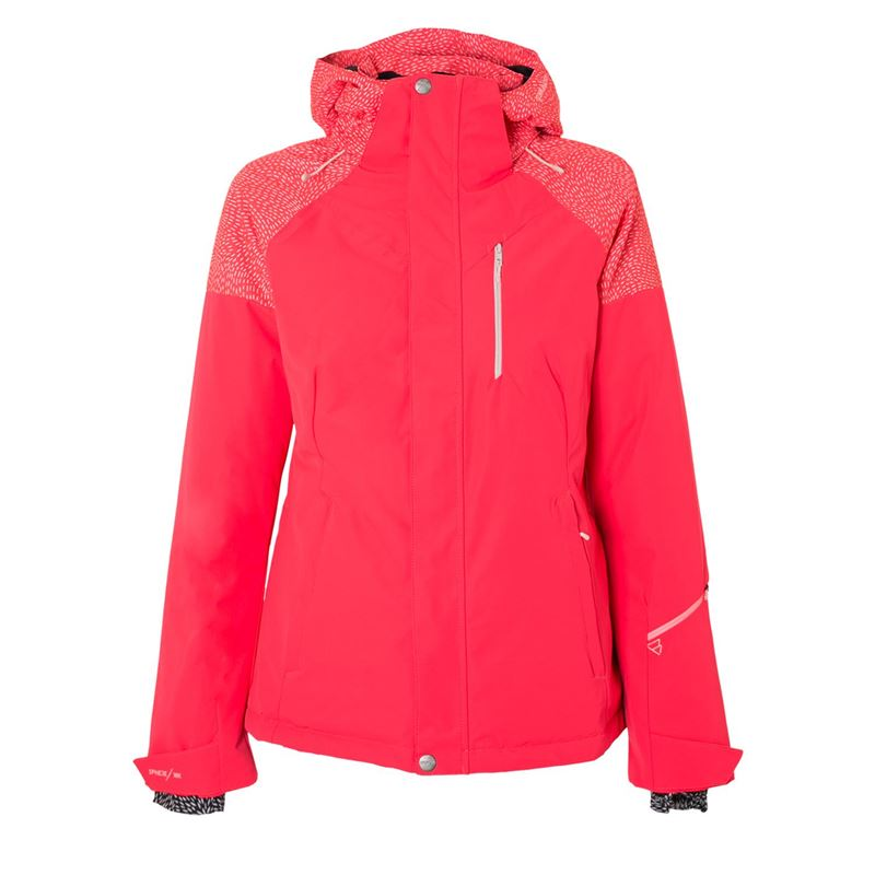 Brunotti Virginia Women Snowjacket (Roze) - DAMES JASSEN - Brunotti online shop