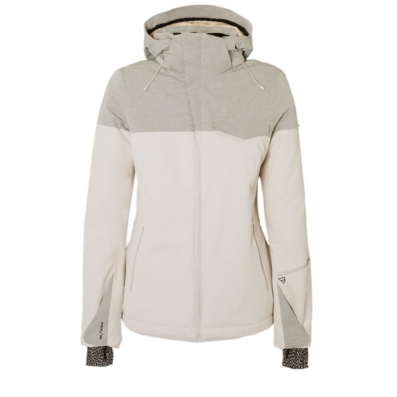 Brunotti Dysnomia Women Snowjacket (White) - WOMEN JACKETS - Brunotti online shop