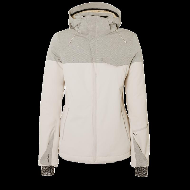 Brunotti Dysnomia Women Snowjacket (White) - WOMEN JACKETS - Brunotti online shop