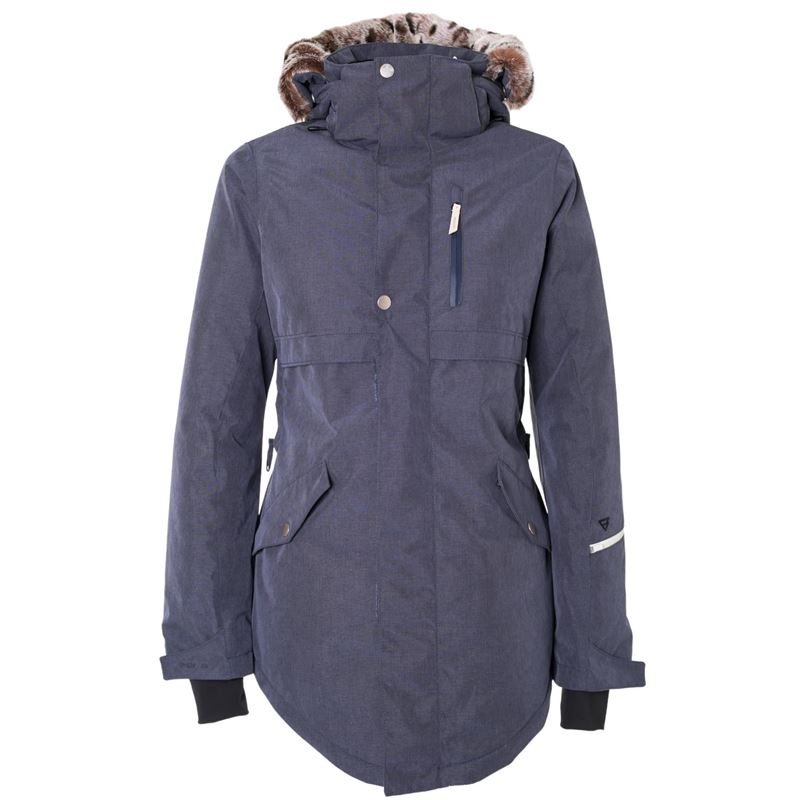 Brunotti Jupiter Women Snowjacket (Blue) - WOMEN JACKETS - Brunotti online shop