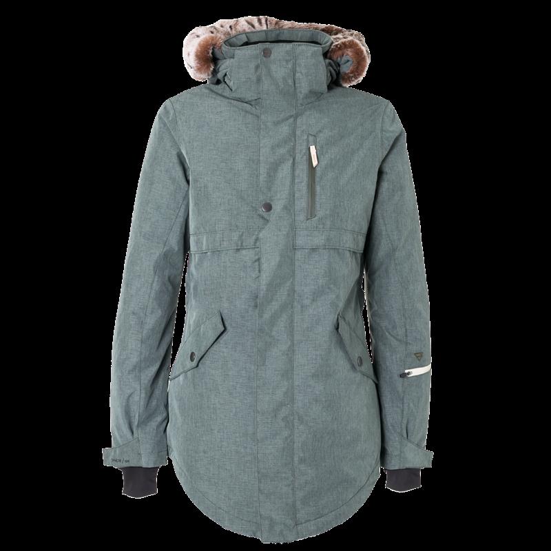 Brunotti Jupiter Women Snowjacket (Groen) - DAMES JASSEN - Brunotti online shop