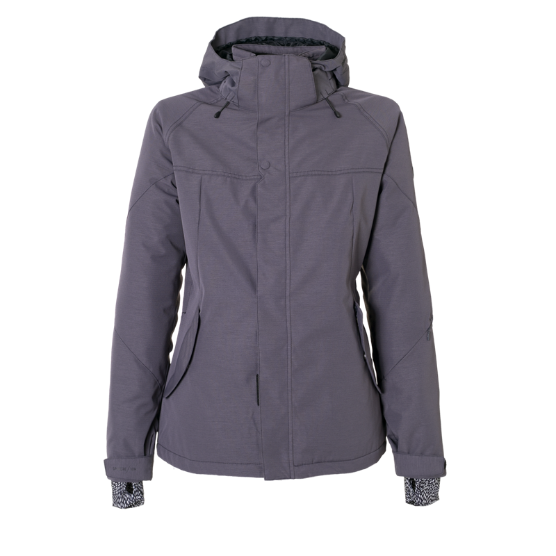 Brunotti Pluto Women Snowjacket (Grey) - WOMEN JACKETS - Brunotti online shop