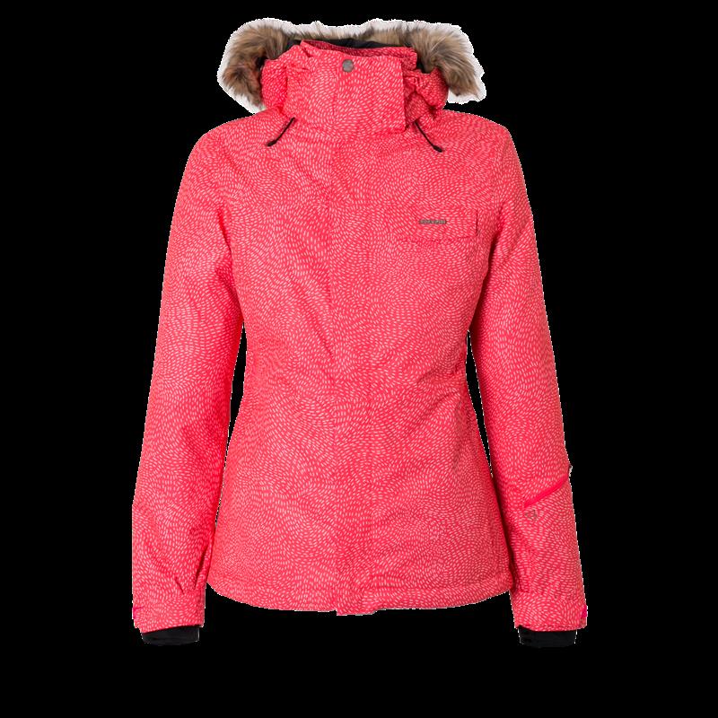 Brunotti Leda Women Snowjacket (Pink) - WOMEN JACKETS - Brunotti online shop