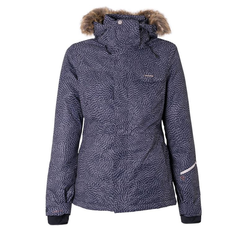 Brunotti Leda Women Snowjacket (Blue) - WOMEN JACKETS - Brunotti online shop