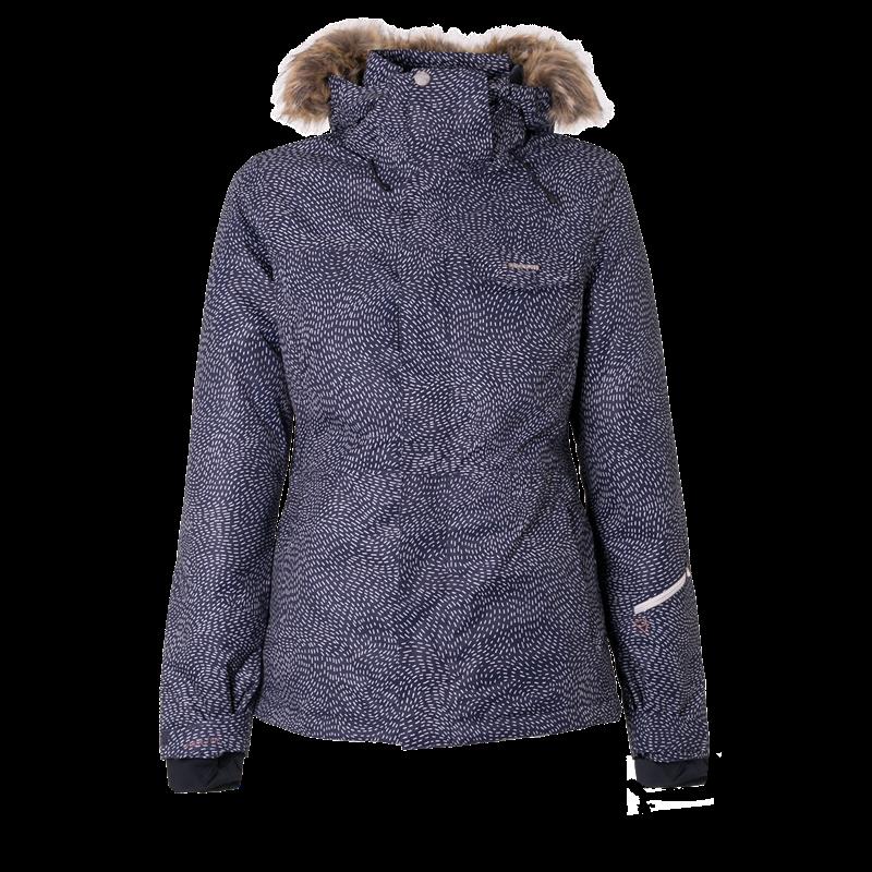 Brunotti Leda Women Snowjacket (Blue) - WOMEN JACKETS - Brunotti online shop