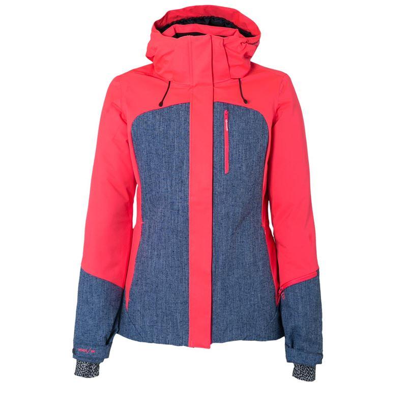 Brunotti Jarezzo S Women Snowjacket (Roze) - DAMES SKI / SNOWBOARD JASSEN - Brunotti online shop