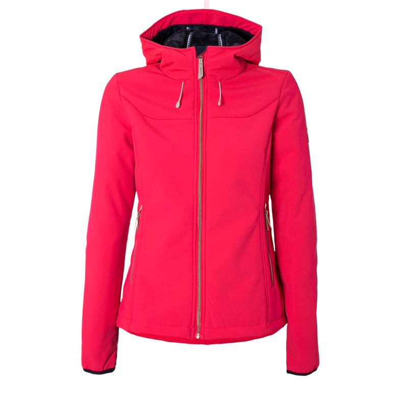 Brunotti Naos Women Softshell jacket (Pink) - WOMEN JACKETS - Brunotti online shop