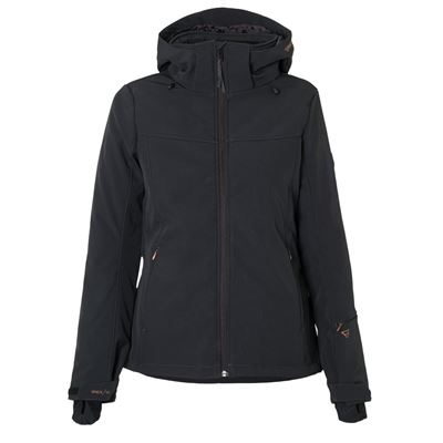 Brunotti Aries Women Softshell jacket. Verfügbar in XS,S,M,L,XL,XXL (1722124045-099)