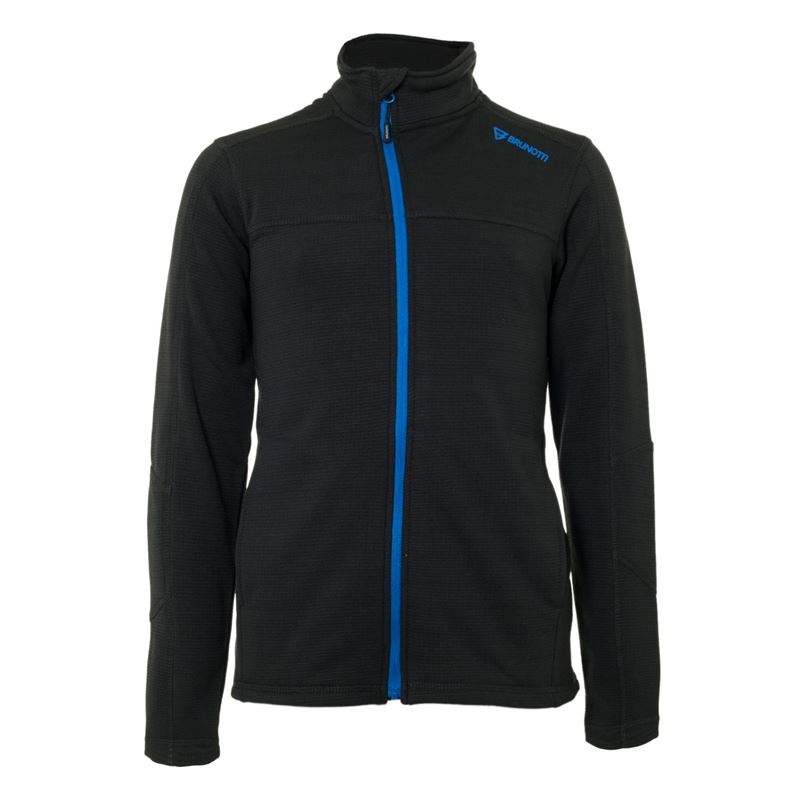 Brunotti Lowend  (zwart) - jongens fleeces - Brunotti online shop