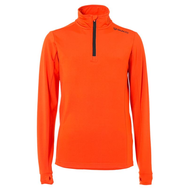 Brunotti Terni JR Boys  Fleece (Oranje) - JONGENS FLEECES - Brunotti online shop