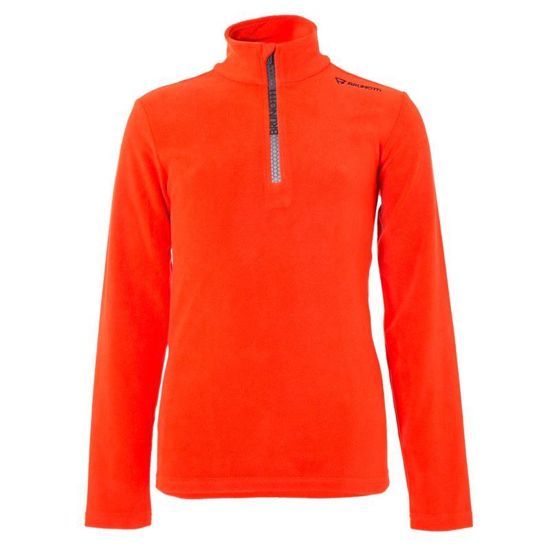 Brunotti Tenno JR Boys  Fleece (Orange) - JUNGEN FLEECES - Brunotti online shop