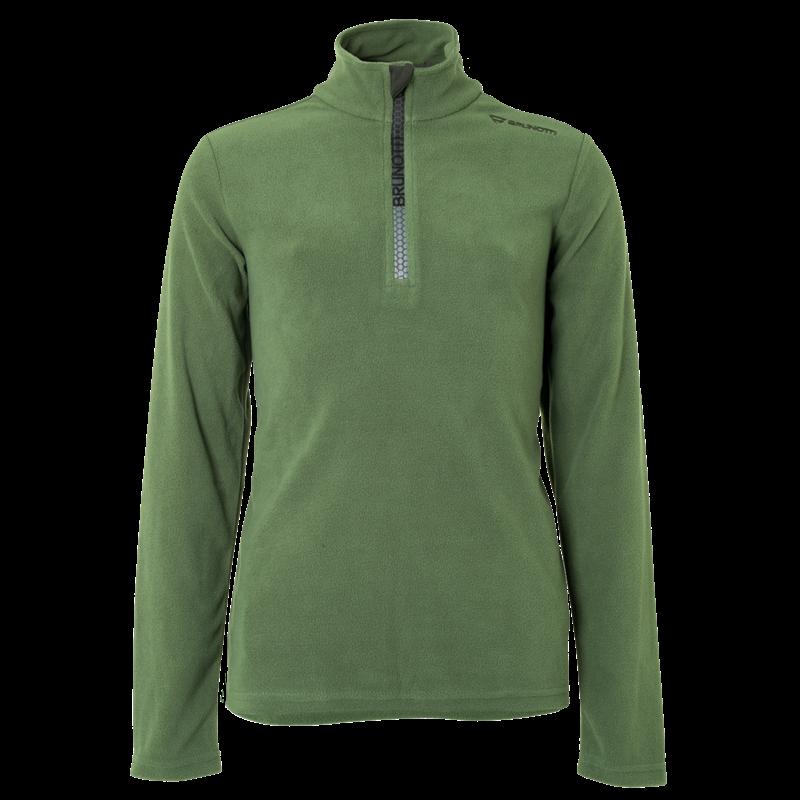 Brunotti Tenno JR Boys  Fleece (Groen) - JONGENS FLEECES - Brunotti online shop