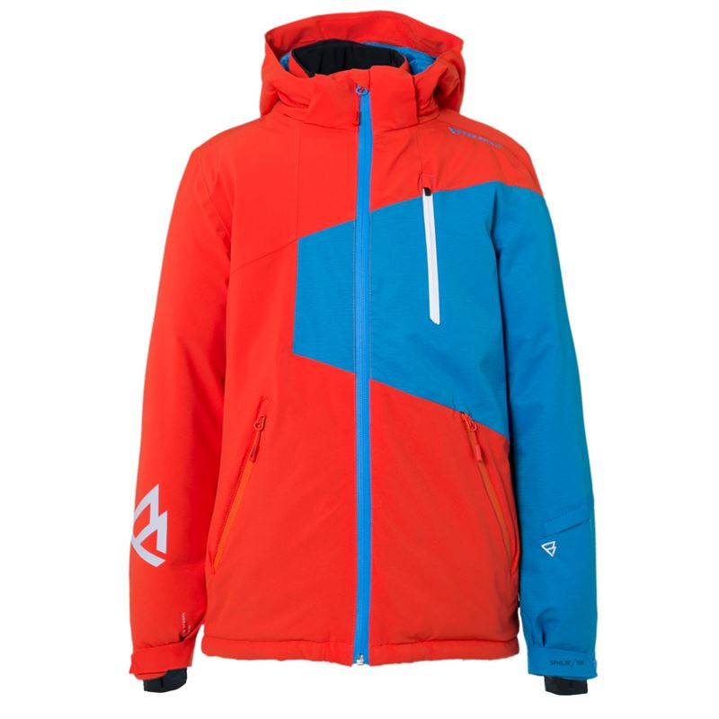 Brunotti Kentucky JR Boys Snowjacket (Orange) - BOYS JACKETS - Brunotti online shop