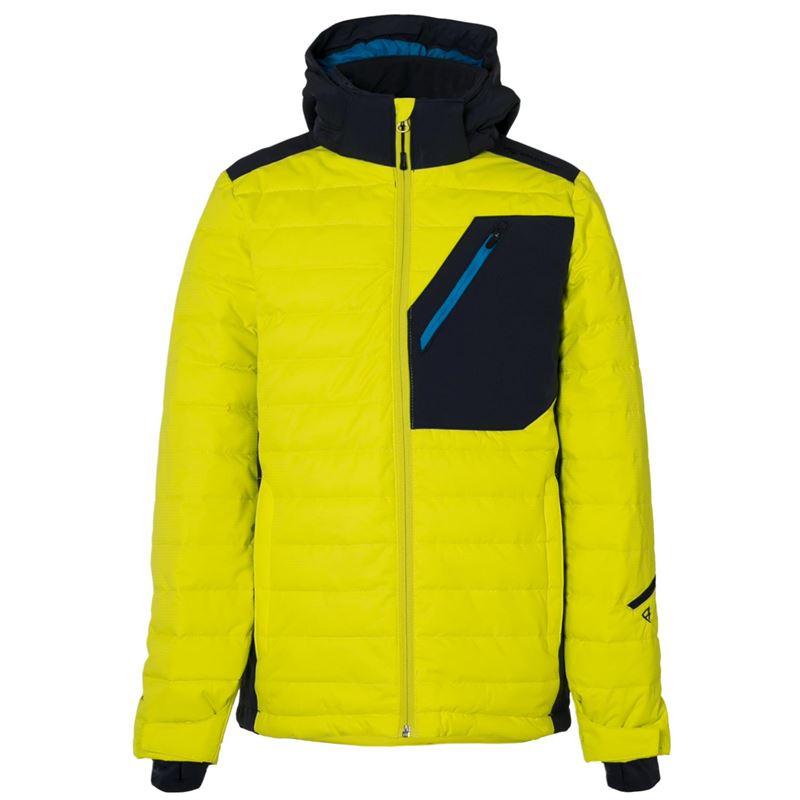 Brunotti Trysail JR Boys Snowjacket (Yellow) - BOYS JACKETS - Brunotti online shop