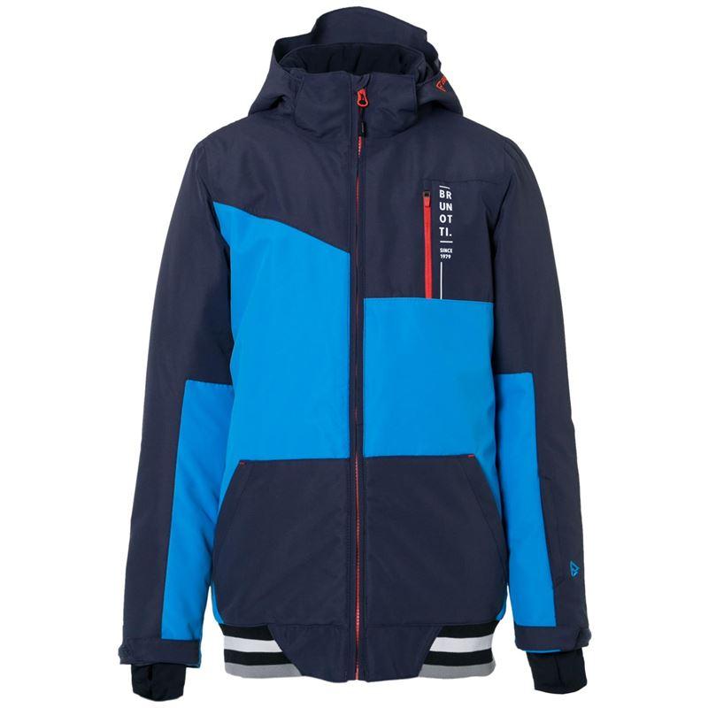 Brunotti Regor JR Boys  Snowjacket (Blue) - BOYS JACKETS - Brunotti online shop
