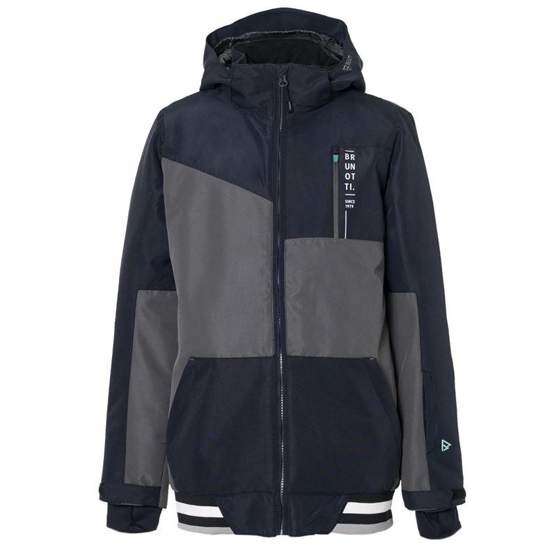 Brunotti Regor  (zwart) - jongens jassen - Brunotti online shop