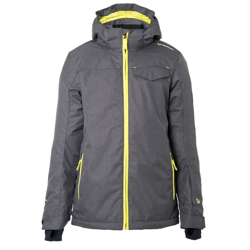 Brunotti Maberto JR Boys Snowjacket (Grau) - JUNGEN SKI / SNOWBOARD JACKEN - Brunotti online shop