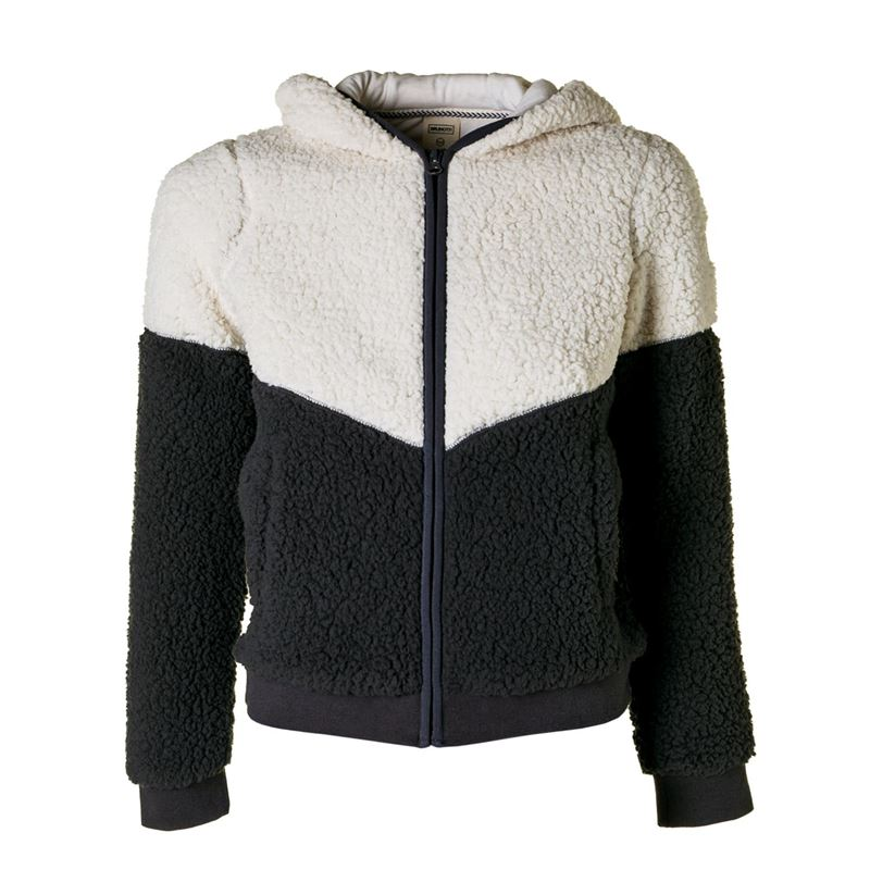 Brunotti Alvie JR Girls Fleece (Grijs) - MEISJES TRUIEN & VESTEN - Brunotti online shop