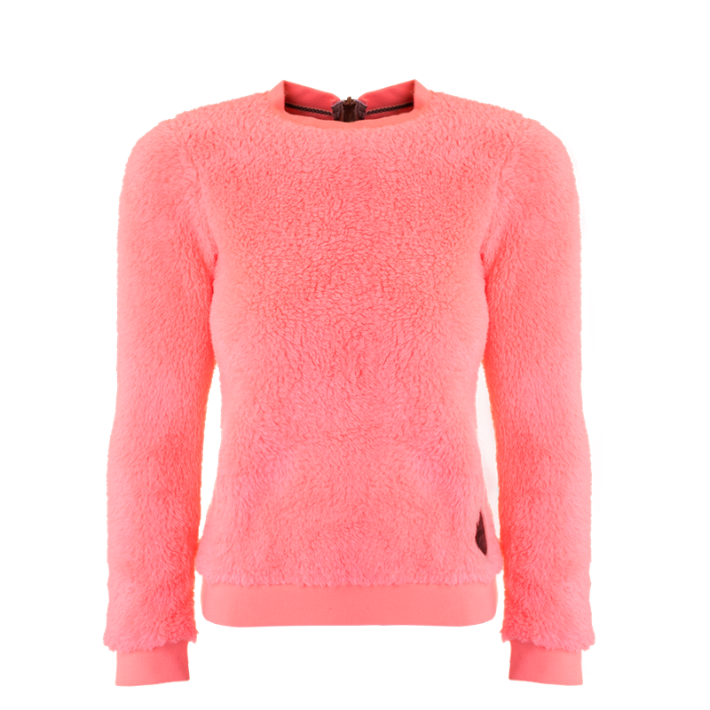 Brunotti Lyra JR Girls Fleece (Roze) - MEISJES TRUIEN & VESTEN - Brunotti online shop
