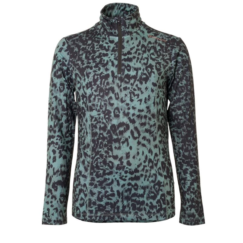 Brunotti Aquilly JR Girls Fleece (Groen) - MEISJES FLEECES - Brunotti online shop
