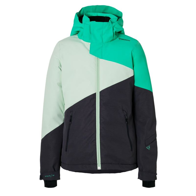 Brunotti Cylla JR Girls Snowjacket (Groen) - MEISJES JASSEN - Brunotti online shop