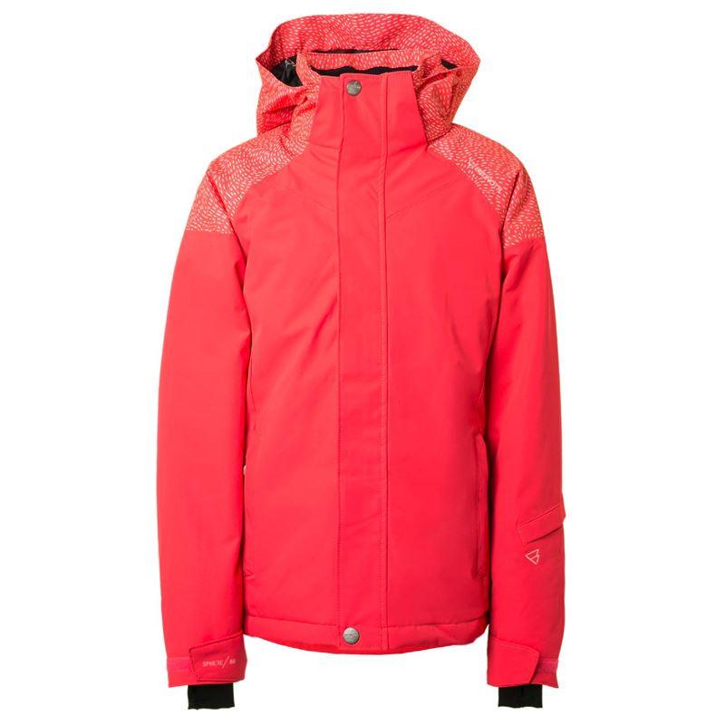 Brunotti Virginia JR Girls Snowjacket (Roze) - MEISJES JASSEN - Brunotti online shop