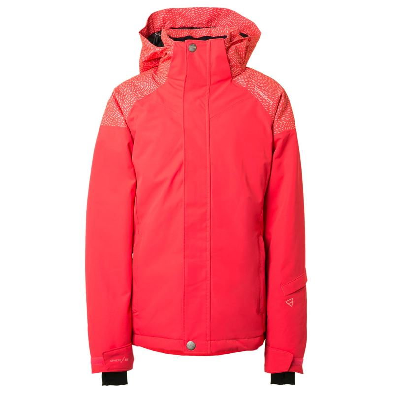 Brunotti Virginia JR Girls Snowjacket (Pink) - GIRLS JACKETS - Brunotti online shop