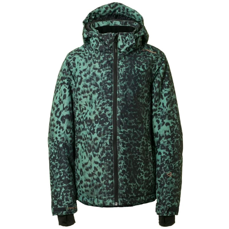 Brunotti Phoebe JR Girls Snowjacket (Green) - GIRLS JACKETS - Brunotti online shop