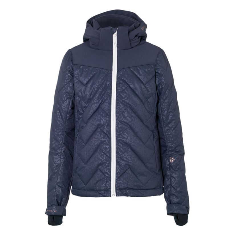 Brunotti Sirry JR Girls Snowjacket (Blauw) - MEISJES JASSEN - Brunotti online shop