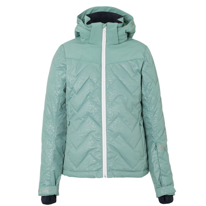 Brunotti Sirry JR Girls Snowjacket (Green) - GIRLS JACKETS - Brunotti online shop