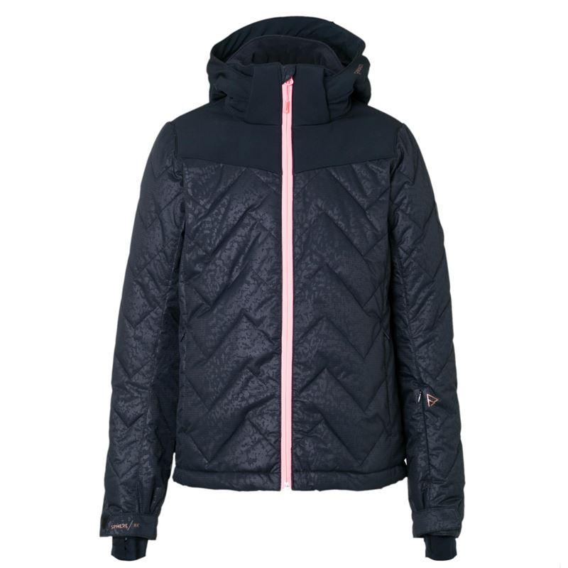 Brunotti Sirry JR Girls Snowjacket (Zwart) - MEISJES JASSEN - Brunotti online shop
