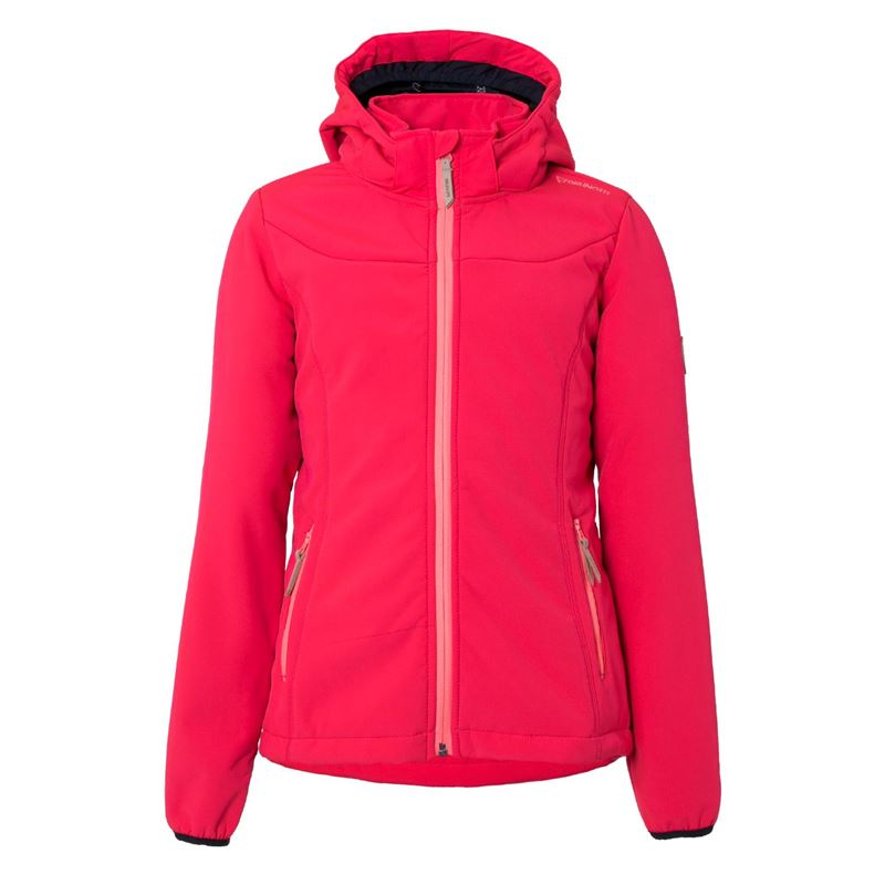 Brunotti Naosy JR Girls Softshell jacket (Rosa) - MÄDCHEN JACKEN - Brunotti online shop