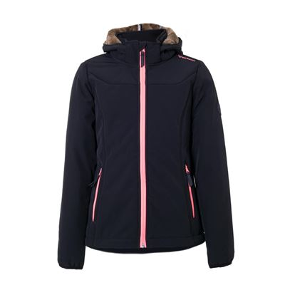 Brunotti Naosy JR Girls Softshell jacket. Beschikbaar in 116,140,152,164 (1724124013-099)
