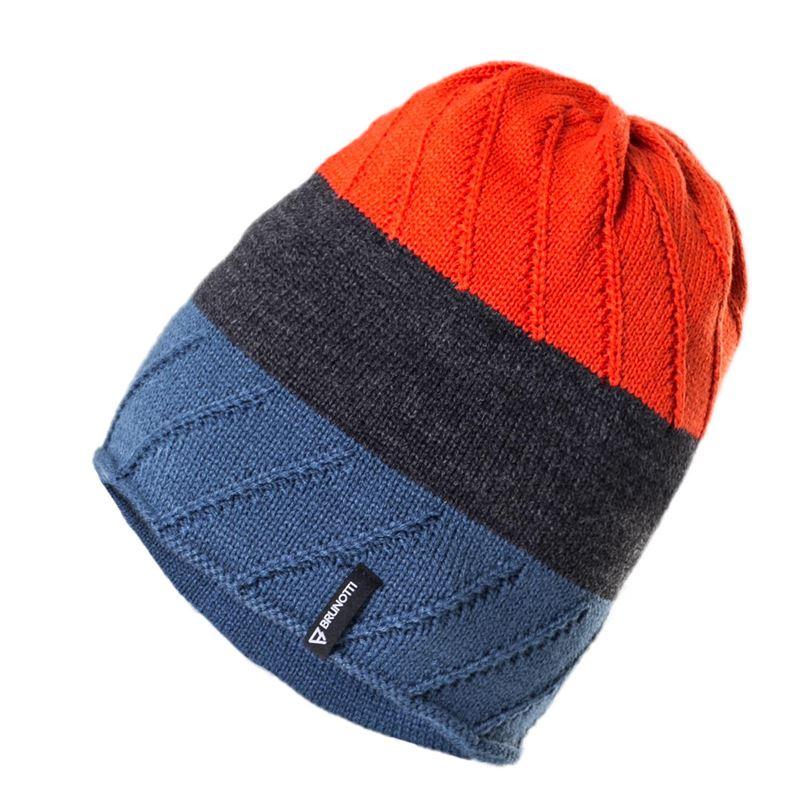 Brunotti Akita  (blauw) - heren beanies - Brunotti online shop