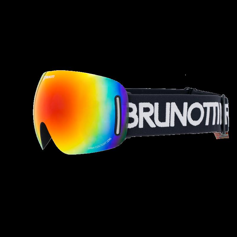 Brunotti Speed 1 Unisex Goggle (Black) - MEN SNOW GOGGLES - Brunotti online shop