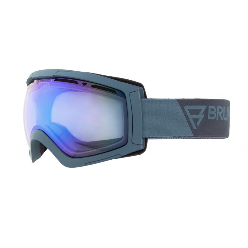 Brunotti Downhill 2 Unisex Goggle (Blue) - MEN SNOW GOGGLES - Brunotti online shop