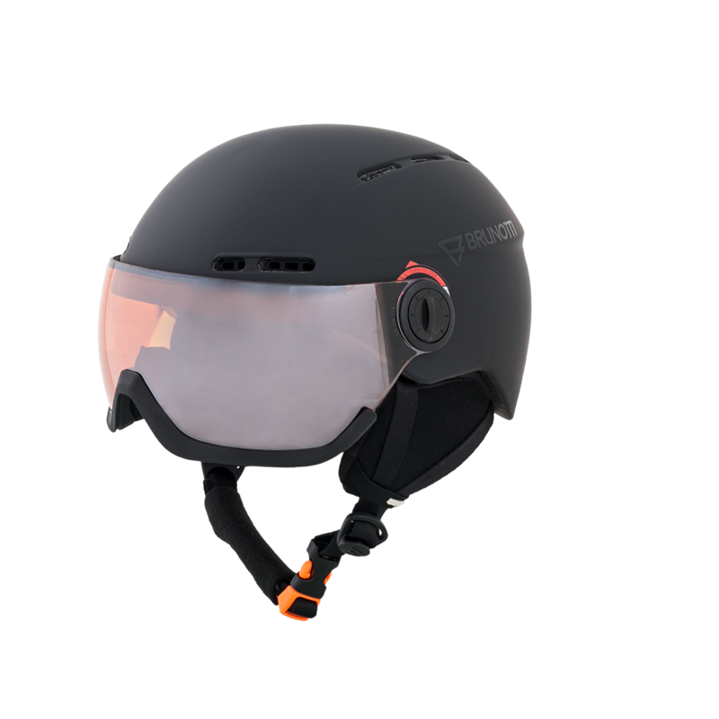 Brunotti Oberon 4 Unisex Helmet (Black) - MEN SNOW HELMETS - Brunotti online shop