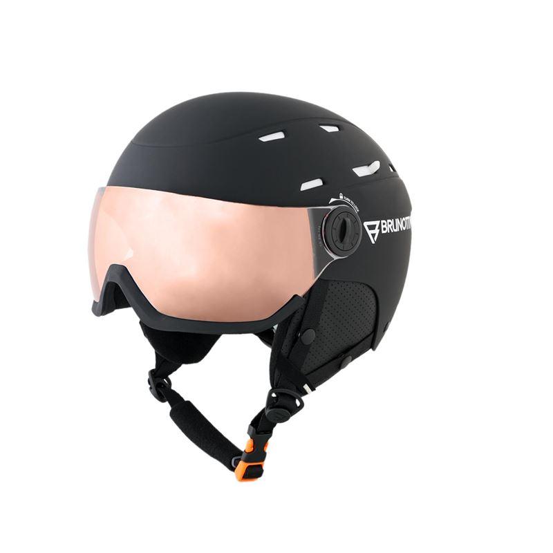 Brunotti Wakefield 1 Unisex Helmet (Black) - MEN SNOW HELMETS - Brunotti online shop