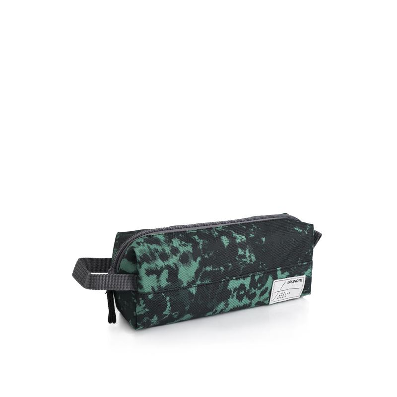 Brunotti Pencil Unisex Etui (Green) - MEN BAGS & PENCIL CASE - Brunotti online shop