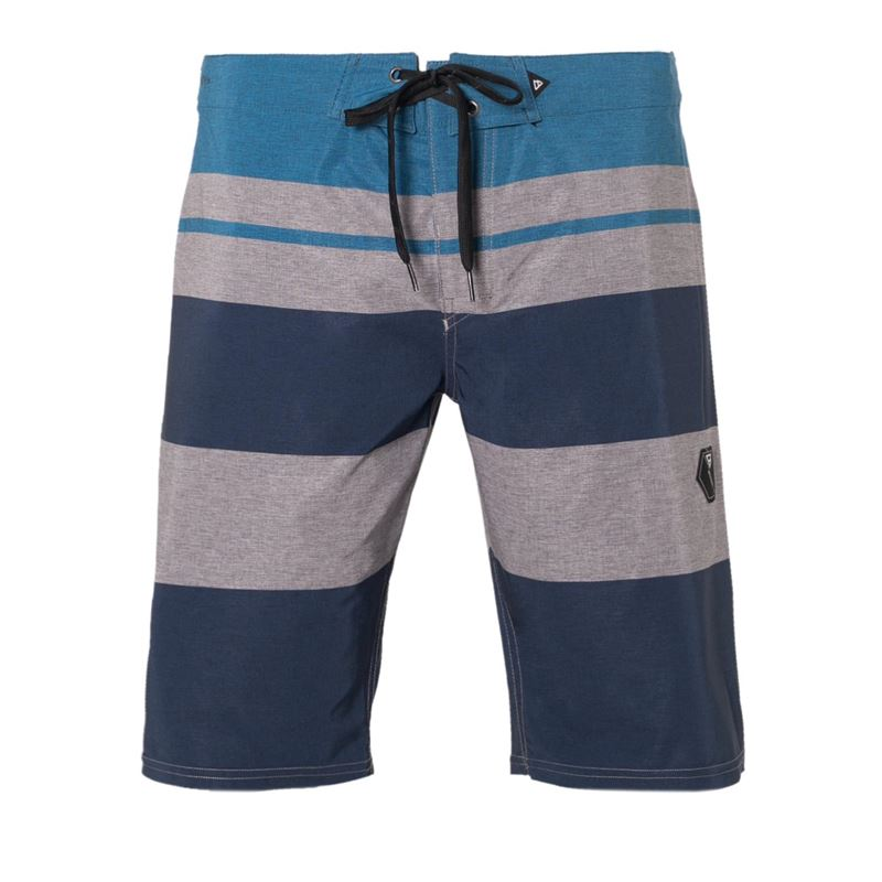 Brunotti Lee  (blauw) - heren boardshorts - Brunotti online shop