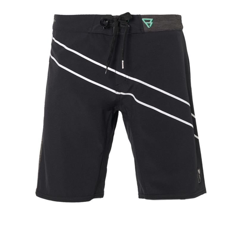 Brunotti Boise Men Boardshort (Zwart) - HEREN BOARDSHORTS - Brunotti online shop