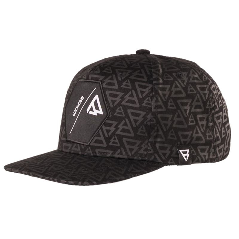 Brunotti Honeycomb Men Cap (Black) - MEN CAPS - Brunotti online shop