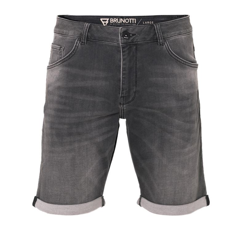 Brunotti Hangtime Men Jog jeans short (Grau) - HERREN SHORTS - Brunotti online shop