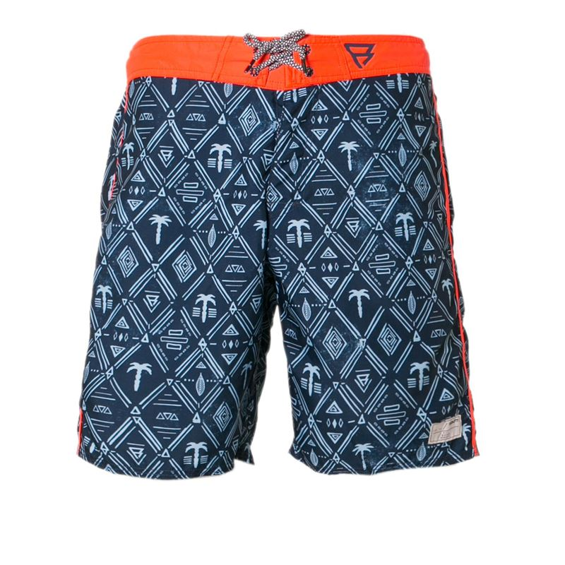 Brunotti Filbert  (blauw) - heren zwemshorts - Brunotti online shop
