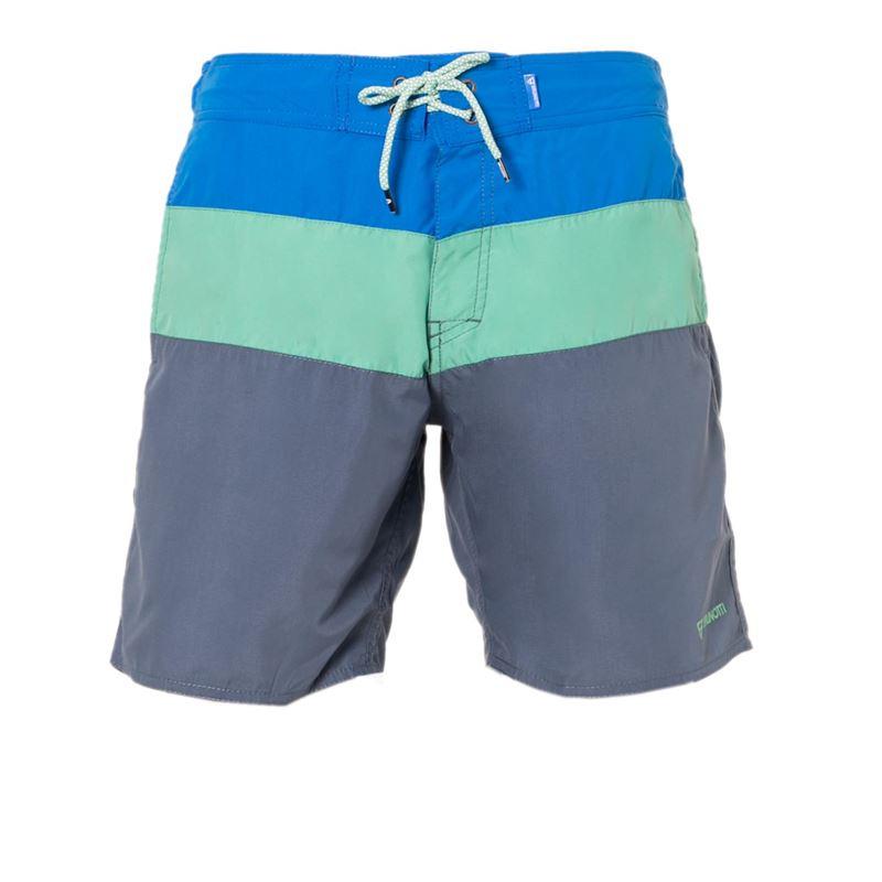 Brunotti Catamaran Men Shorts (Blauw) - HEREN ZWEMSHORTS - Brunotti online shop