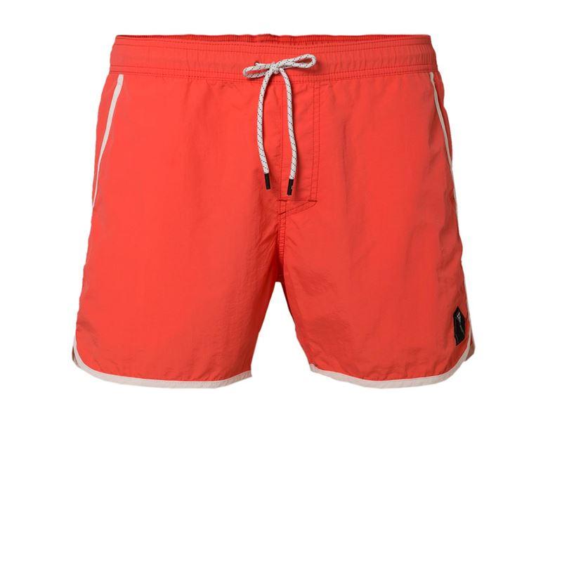 Brunotti Calbero  (rood) - heren zwemshorts - Brunotti online shop