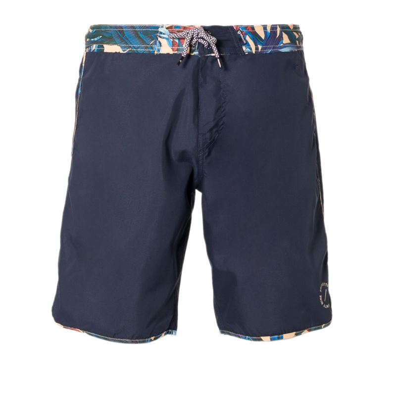 Brunotti Splattin Men Shorts (Blauw) - HEREN ZWEMSHORTS - Brunotti online shop