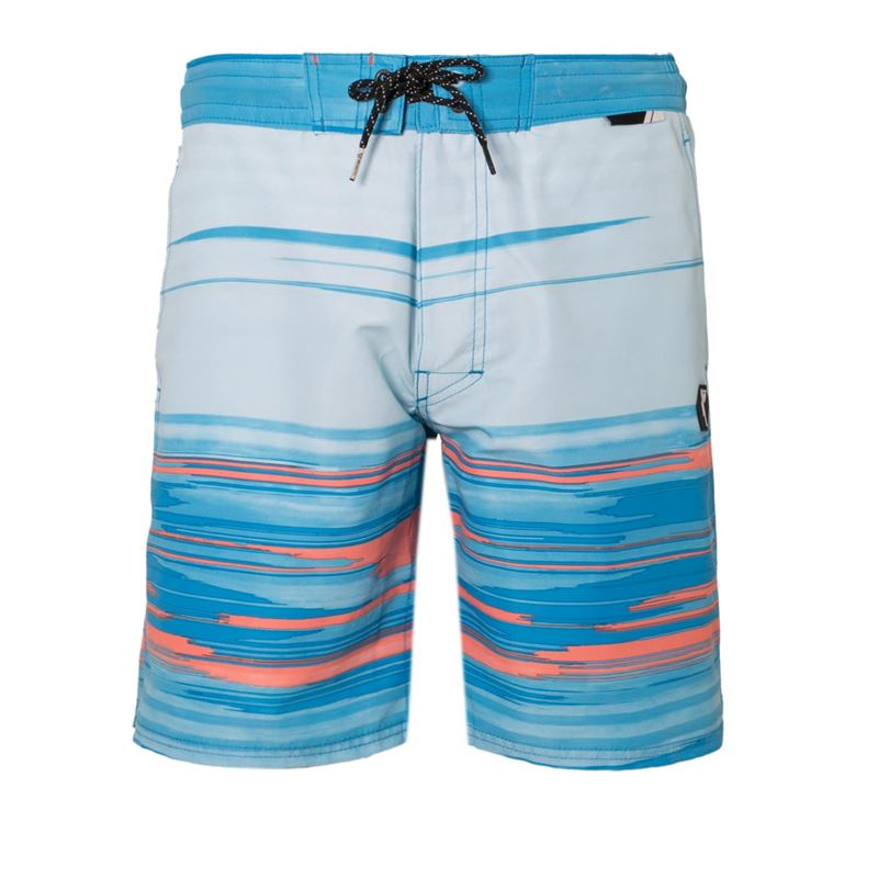 Brunotti Willis  (blauw) - heren zwemshorts - Brunotti online shop