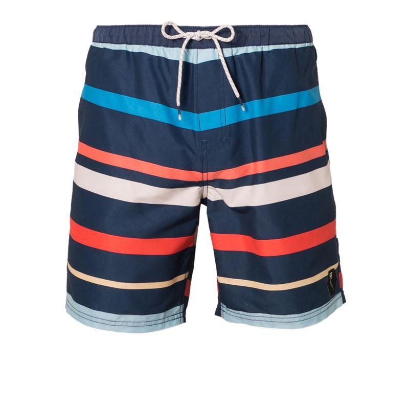 Brunotti Aiven  (blauw) - heren zwemshorts - Brunotti online shop