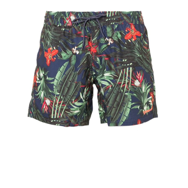 Brunotti Crunot  (blue) - men swimshorts - Brunotti online shop